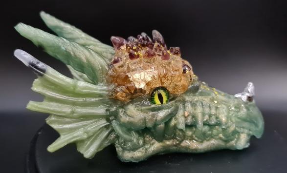 Drachenkopf Resin Granat